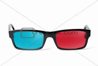 3D glasses front