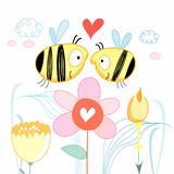 Bees love