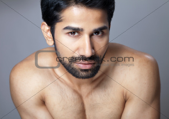 Beauty portrait of a young man