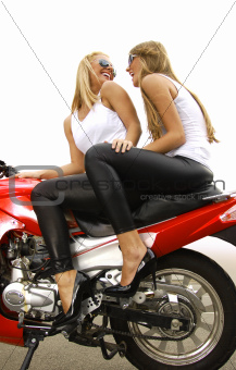 two blonde