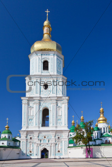 belltower of Saint Sophia Cathedral in Kiev