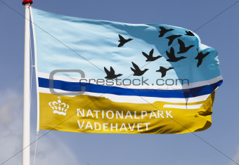 Flag of the Wadden sea national park