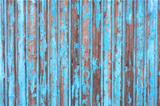 blue wooden wall