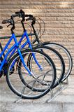 Three bicycles