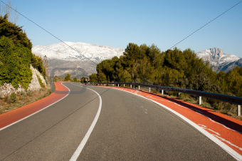Guadalest road