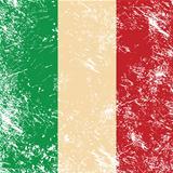 Italy retro flag