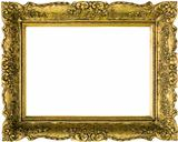 Gilded Golden Frame Cut Out