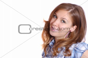 nice smiling girl
