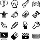 Applications Icon series set