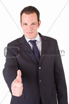 Positive Businessman