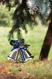 Outdoors Christmas tree decoration