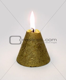 Conical candle