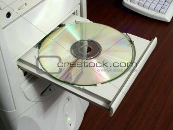 CD-ROM in drive