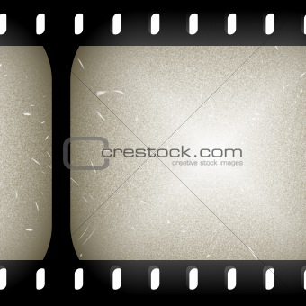 Old film slide
