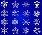 Snowflakes vector