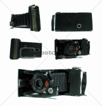 Old Camera In Different Angles