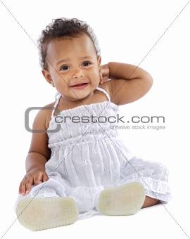 adorable happy baby