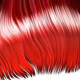 Wild red wig