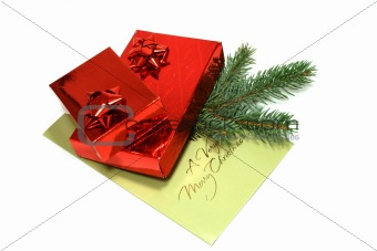 Gift Boxes with Postal Card