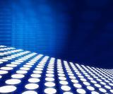 vector tile waves on blue background