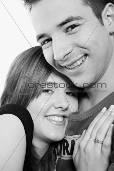 Portrait of girfriendl and boyfriend