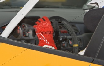 Rally driver detail