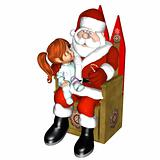Meeting Santa 1