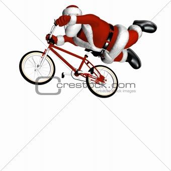 BMX Santa 2