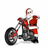 Santa Chopper 1