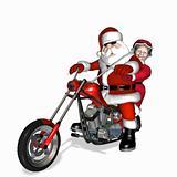 Santa Chopper 5