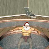 Santa Hot Tub 1