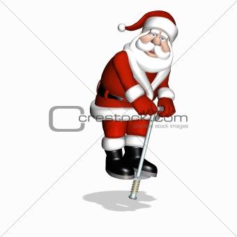 Santa Toy Testing - Pogo Stick 2