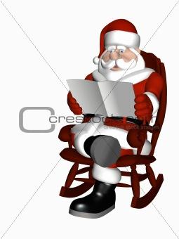 Santa Relaxing 6