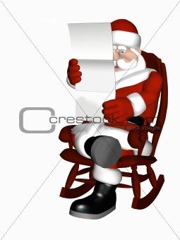 Santa Relaxing 7