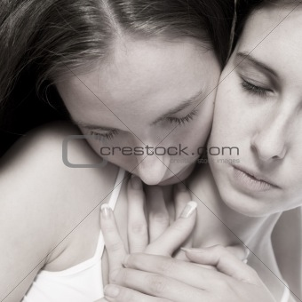 Tender women loving