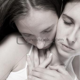 Tender women loving