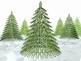 Christmas tree fastener