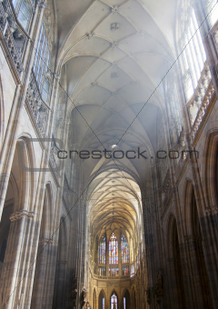 nave of the cathedral