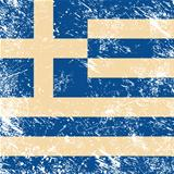 Greece retro flag