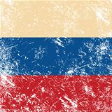 Russia retro flag