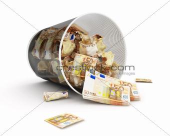 euro money basket