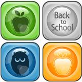 Vector Back to School Icons