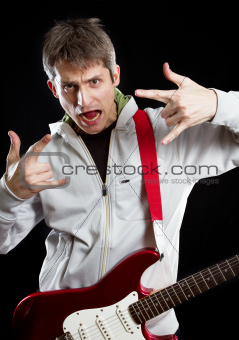 Man With The Guitar