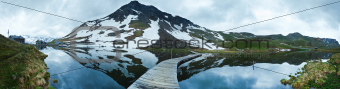 Alps summer panorama