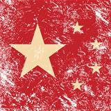 China retro flag