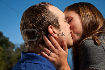 Love Couple Kiss