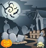 Cemetery theme image 1