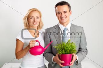 Business gardening
