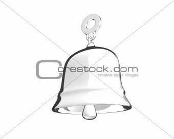 cartoon style bell (3D)