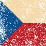 Czech retro flag